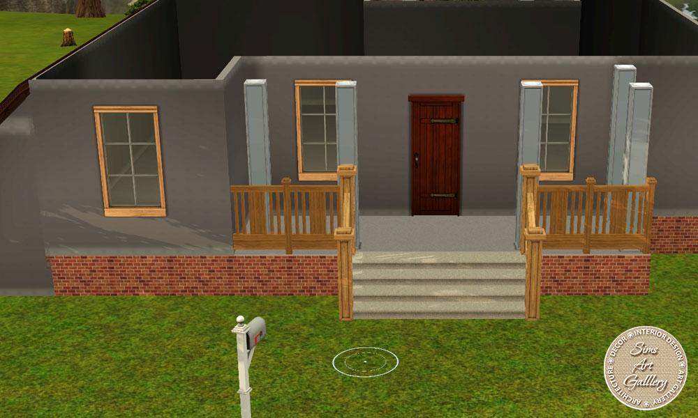 Как в симс 3 сделать дом в воде